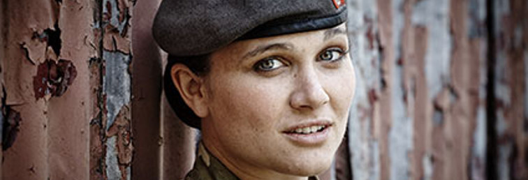 Female officer in the Army Medical Service